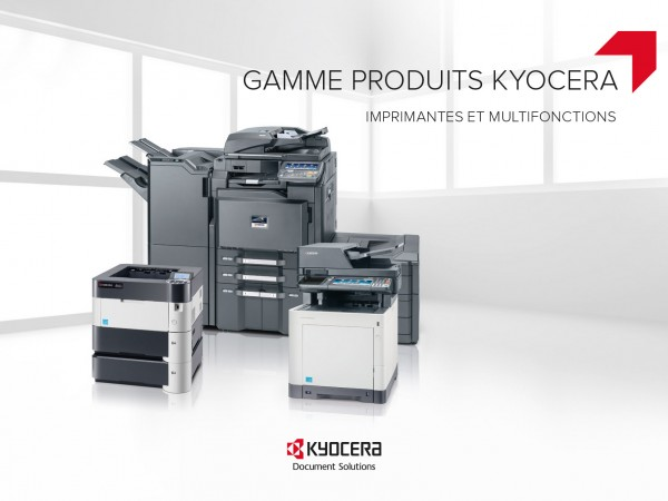 Brochure gamme Kyocera 2015